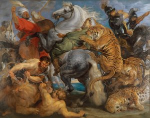 Peter-Paul-Rubens-Tiger-Lion-and-Leopard-Hunt-1616