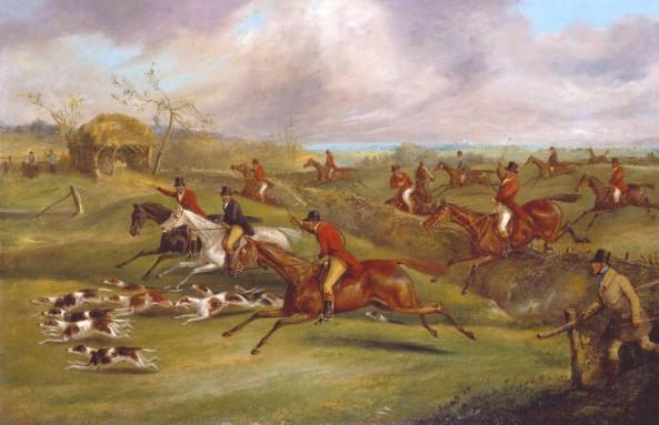 The Belvoir Hunt: Full Cry circa 1830-40 Henry Thomas Alken 1785-1851 Presented by Paul Mellon through the British Sporting Art Trust 1979 http://www.tate.org.uk/art/work/T02354