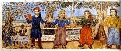 Theophilos3-Γλέντι-στο-χωριό