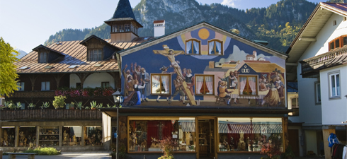 Oberammergau, Upper Bavaria, Germany