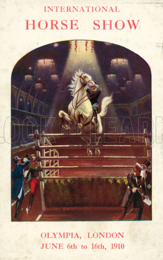 International horse show, Olympia, London