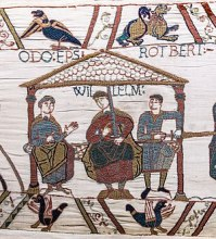 300px-Bayeux_Tapestry_scene44_William_Odo_Robert