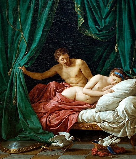 Mars and Venus an Allegory of Peace - Louis-Jean-Francois Lagrenee