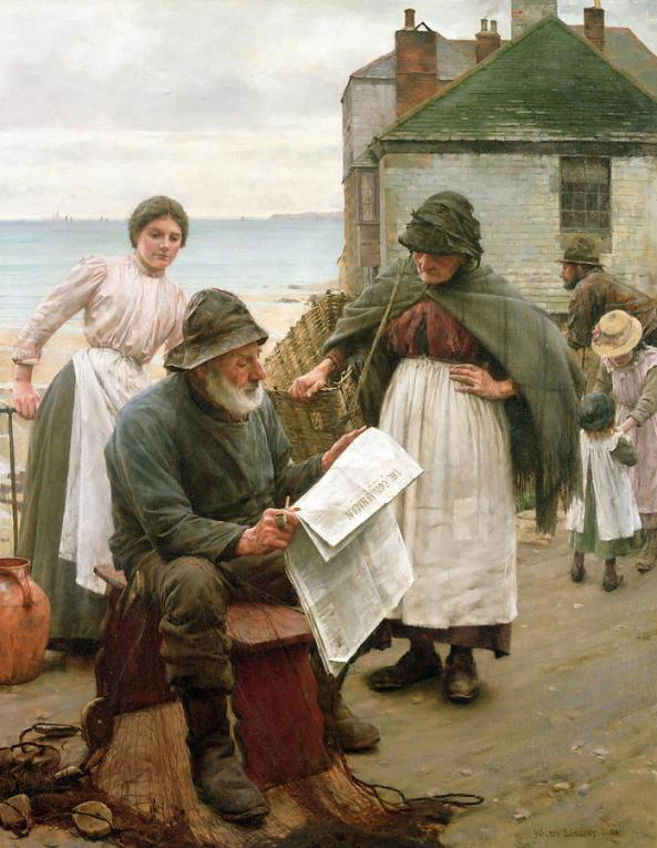 when-the-boats-are-away-walter-langley