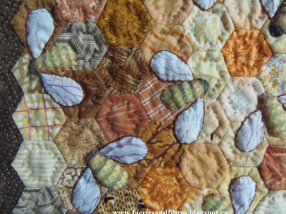 Quilting Bees close up 2