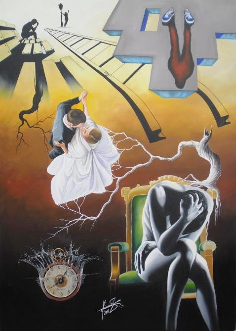 15-Shadow-of-the-Past-Raceanu-Mihai-Adrian-Surreal-Oil-Paintings-www-designstack-co