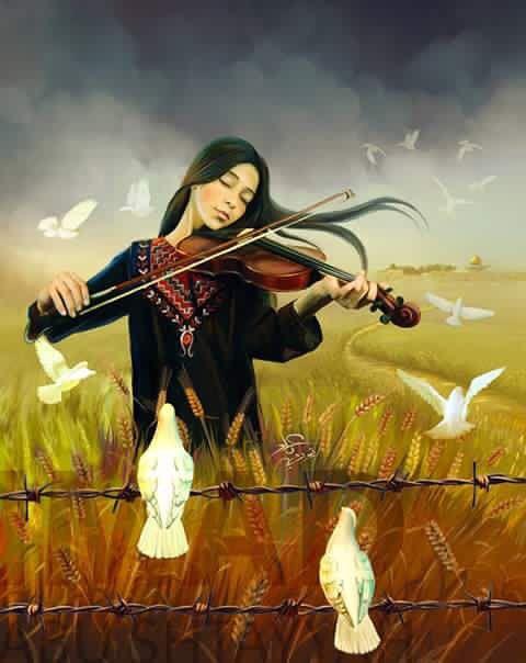 baf26535013a09cba1c57df7c93cafc3--palestine-art-art-music