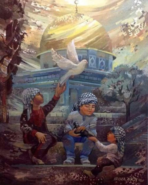 e0da81d9d44769f77cedf33537b4bddc--palestine-art-paintings