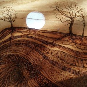 new-pyrography-piece-getting-packed-to-go-off-to-the-gallery.-its-called-one-to-the-others-after-my-