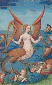 MS M.42, fol. 15 recto, Gringore, Pierre, ca. 1475-1538? Les abus du monde. Rouen, France, ca. 1510.