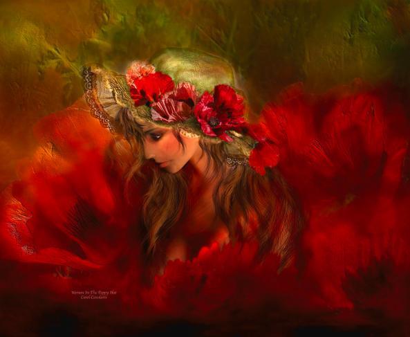 woman-in-the-poppy-hat-carol-cavalaris