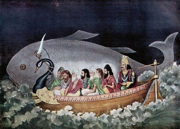Matsya-protecting-Manu