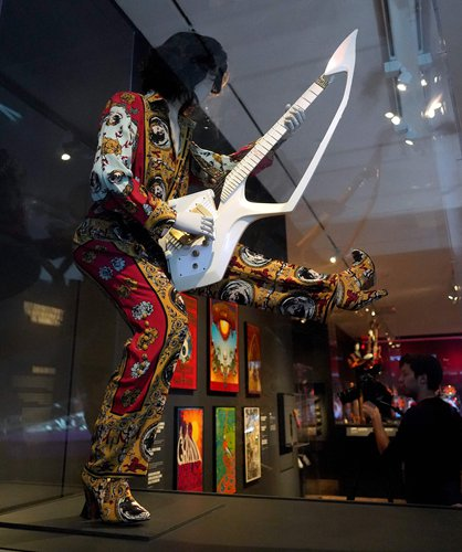 A Groundbreaking Exhibition At The Met: 'Play It Loud: Instruments Of Rock & Roll