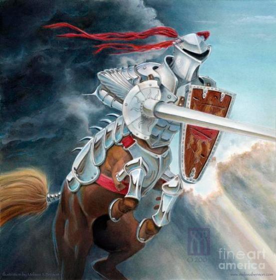 centaur-joust-melissa-a-benson