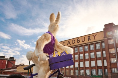 The Cadbury Easter Bunny sets off from Bournville to deliver joy to the nation in the lead-up to the Easter weekend